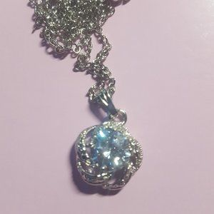 Crystal Stone Expandable Necklace